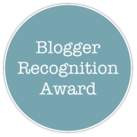 Blogger Reconigtion Award / Unas horas de luz (18.07.16)